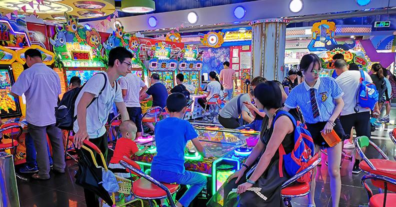 Video game amusement equipment application case